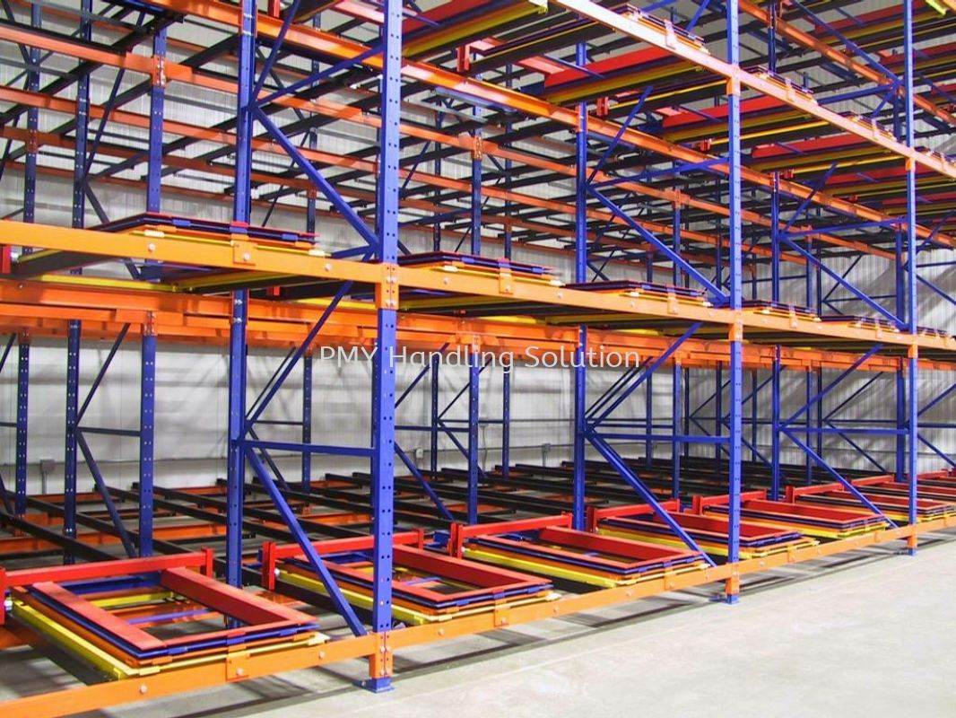 Push Back Rack Heavy Duty Rack Racking System Selangor, Kuala Lumpur, KL, Malaysia. Supplier, Suppliers, Supply, Supplies | PMY Handling Solution