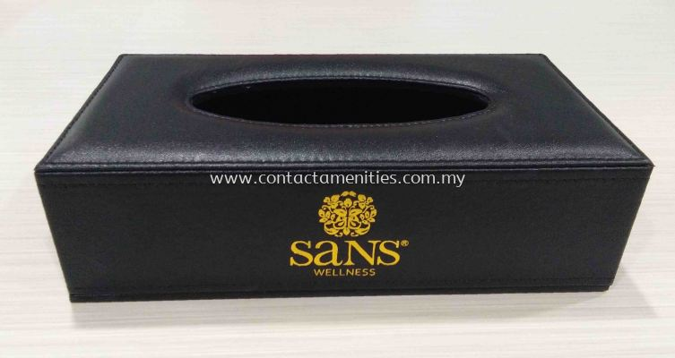 PU Tissue Box Cover with Printing