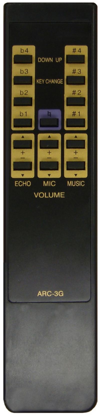 BMB KTV AMPLIFIER REMOTE CONTROL