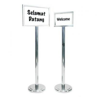Stainless Steel Welcome Stand