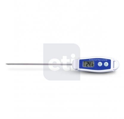 ETI Waterproof thermometer with max/min and ��C/��F functions Order Code : 810-275