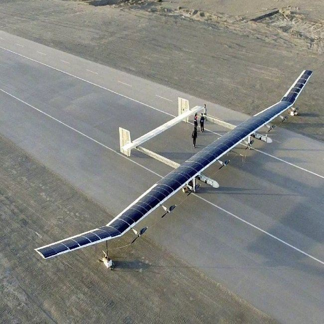 Chinas solar-powered UAV China News