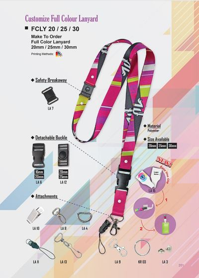 PG 201 Lanyard (Customize)