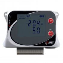 Data logger for 2 voltage inputs 0-10V and 2 external temperature probes