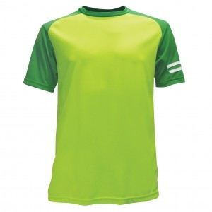 Lefonse Microfiber Cut & Sew Round Neck (RM02-24) APPLE GREEN with MILO GREEN
