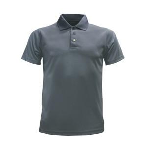 Lefonse Microfiber Plain Collar T-shirt (M20-25) DARK GREY