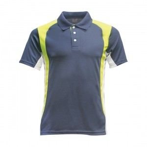 Lefonse Microfiber Cut & Sew Collar T-Shirt (M23-25) DARK GREY