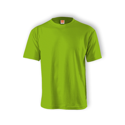 QD0413 Lime Green Oren Sport Quick Dry Round Neck LIME GREEN