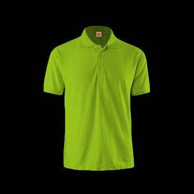 QD0613 Lime Green Oren Sport Quick Dry Collar Tshirt LIME GREEN
