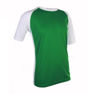 QD3666 Milo Green Oren Sport Quick Dry Round Neck MILO GREEN with WHITE