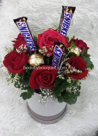 CS 008 Choco & Snack Bouquet