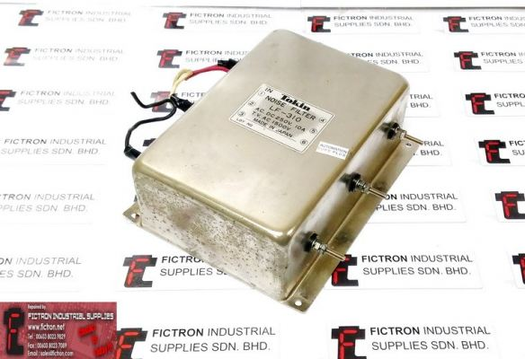 LF-310 LF310 TOKIN Noise Filter 240VAC 10A 1500VAC REPAIR IN MALAYSIA 1-YEAR WARRANTY