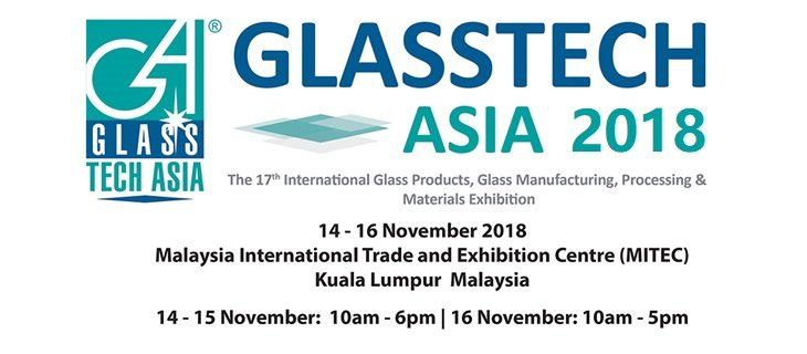 Glasstech Asia 2018 November 2018 Year 2018 Past Listing