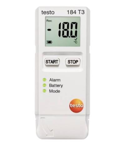 testo 184 T3 - Temperature data logger for transport monitoring