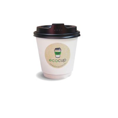 12[T]oz Double Wall Disposable Hot Cup (ECDW12T)