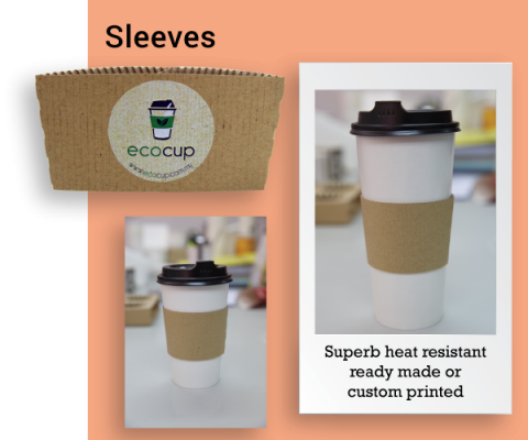 Hot Cup Paper Sleeves