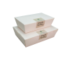 Various Sizes Paper Food Boxes Disposable Paper Food Box Food And Beverage Packaging