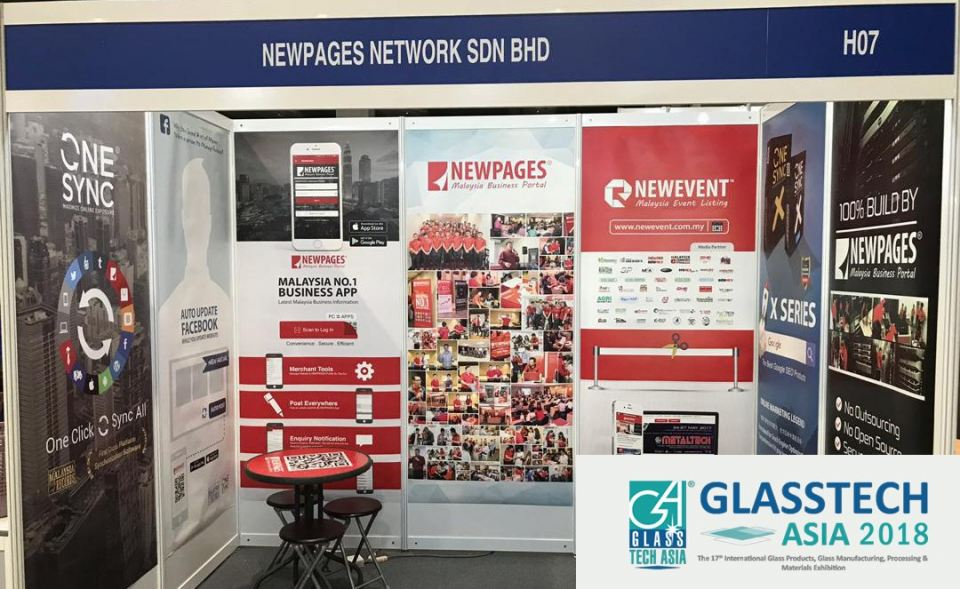 GLASSTECH ASIA 14-16 Nov 2018 At MITEC