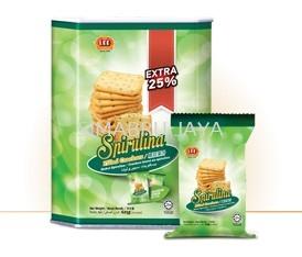 Spirulina Filled Crackers