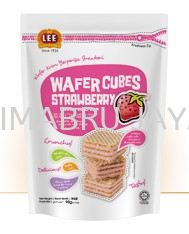 Strawberry Wafers 90g Wafers LEE BISCUITS BISCUITS Malaysia, Selangor, Kuala Lumpur (KL), Klang Supplier, Suppliers, Supply, Supplies | Simabru Jaya Sdn Bhd
