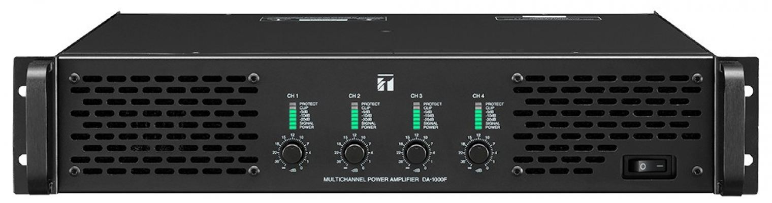 DA-1000F.Multichannel Power Amplifier