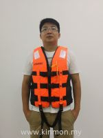 Lime Orange - Heavy Duty Life Jacket