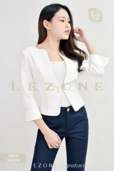 10270 EMBELLISHED BUTTON JACKET��Purchase 2pcs FREE 1 x camisole bralette��