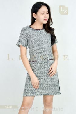 12758 PLUS SIZE LINEN DRESS【BUY 2 FREE 3】