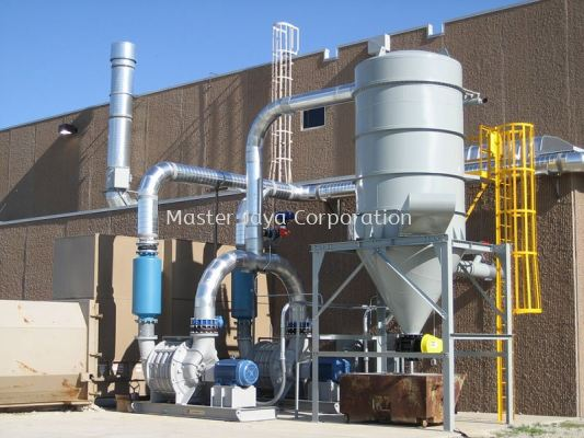 Industrial Centralized Vacuum Cleaning System