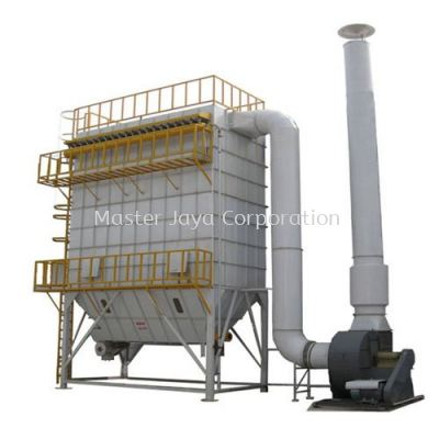 Hot Gas Filter Pulse-Jet Dust Collectors ( Gas Scrubber )