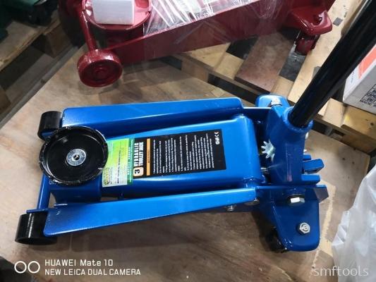 SMFTOOLS 3 Ton Garage Jack(Single Pump)