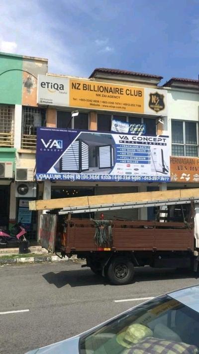 VA Concept Billboard at Meru Klang