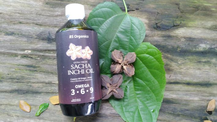 Sacha Inchi Oil 250ml (Brand: BS ORGANICS) - RM 90
