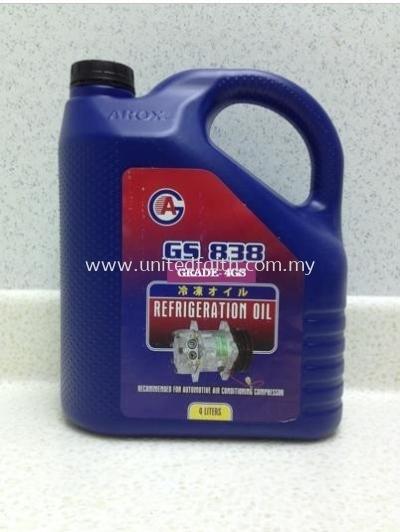 COMPRESSOR OIL 4GS838 �C 4L