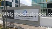Motive Engineering Sdn Bhd Meru Klang GI METAL SIGNAGE
