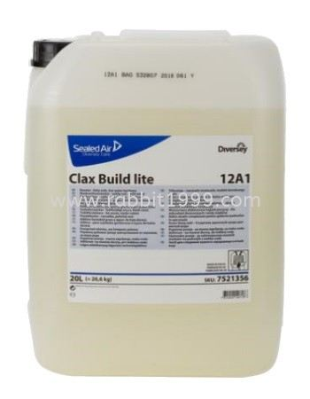 DIVERSEY CLAX BUILD LITE 12A4 LAUNDRY CARE DIVERSEY CLEANING CHEMICALS