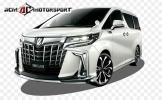 toyota Alphard Aero 2018 facelift modellista kit Alphard 2015 Toyota