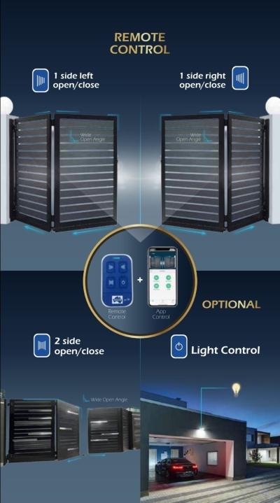 Ados Autogate app control