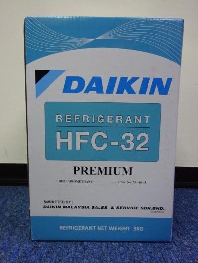 DAIKIN DR32 R32 (PREMIUM) X 3KG HFC REFRIGERANT GAS
