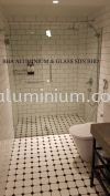 Tempered Glass Shower Screen SHOWER SCREEN TEMPERED GLASS