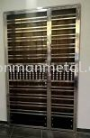 Both Side Open Door Door Stainless Steel