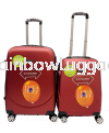 360 Maroon 2 In 1 360 Luggage Luggages