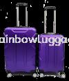 Iron Man Dark Purple Iron Man Grade A 2 In 1 Luggage Luggages