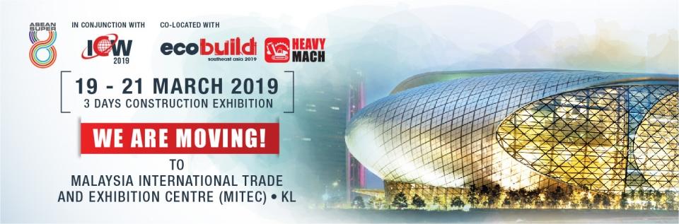 Ecobuild Southeast Asia 2019 March 2019