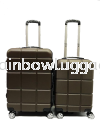 Square Brown Square Grade A 2 In 1 Luggage Luggages