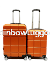 Square Orange Square Grade A 2 In 1 Luggage Luggages