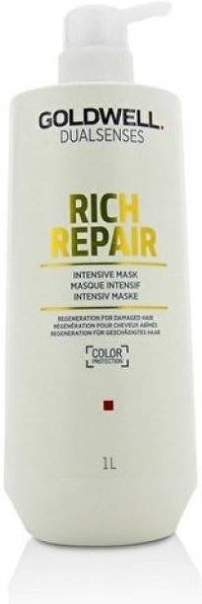 Goldwell Dual Sense Rich Repair Intensive Mask 1000ML (Regeneration For Damaged Hair )