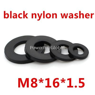 M8-black-plastic-nylon-flat-washer
