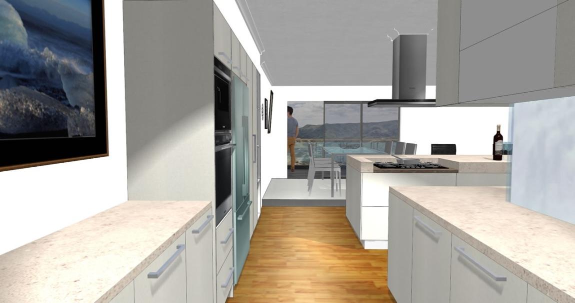 3D 厨房设计图 厨房 3D设计图