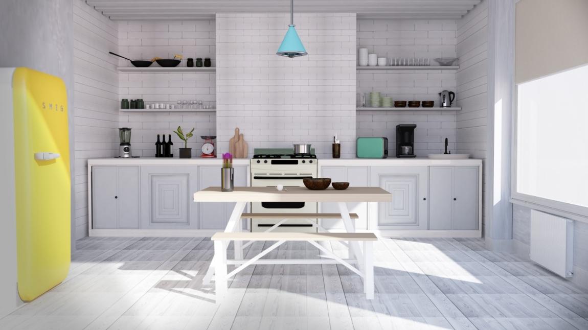 3D Kitchen Design Drawing Kitchen 3D Design Drawing